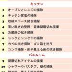 【30日間お掃除チャレンジ】予定表あり